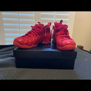 Nike Air Foamposite Pro-size 9 red